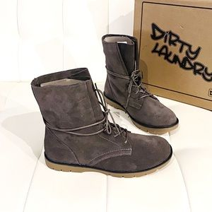 NEW DIRTY LAUNDRY Combat Boots